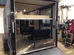 2017 used atc aluminum trailer pany 7 x 20 toy hauler in pennsylvania pa