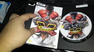 unboxing street fighter v pc youtube