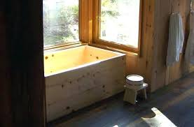 soaking tub wood original bath tubs for and aromatherapy round wooden japanese plans how to build