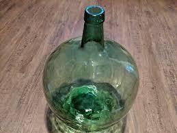 vintage viresa glass jug large 16 litre demijohn bottle