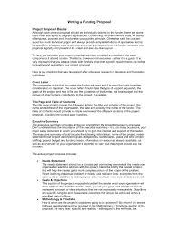 Writing Research Proposal For Funding Example Of Ts How To