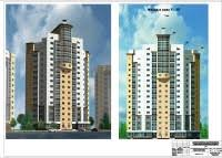 Проекты жилых зданий pgs diplom pro Магазин готовых дипломных  331 Проект 17 ти этажного жилого дома в г Калуге мгсу