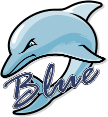 Blue Dolphins Logo