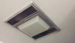How To Replace A Bathroom Fan With Light Lighting Change Exhaust