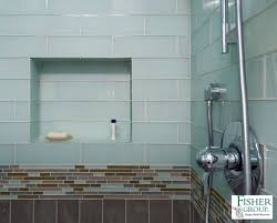 Bathroom Glass Tile Design Ideas Home Willing Ideas