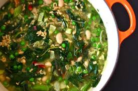 Image result for green minestrone soup