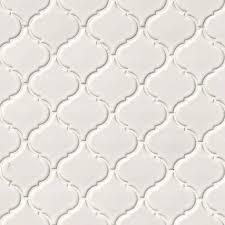 white arabesque tile beltile arabesque porcelain mosaic matte