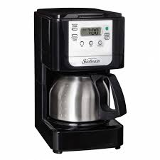 sunbeam 5 cup programmable coffeemaker with stainless steel carafe throughout majestic thermal carafe coffee maker your