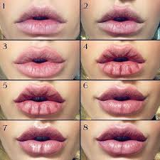 kylie jenner angelina jolie lips without injections makeup lip tutorial from mellifluous mermaid