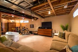 basement lighting. Basement Lighting Ideas. Finish Ideas Throughout Gratifying Cost Partially Finished Inspiring With Magnificent T