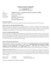 Legal Clerk Resume Sample