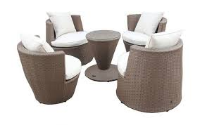 furniture chairs set stacking setting seater christow rattan wicker table zebrano sets round dining garden chair