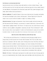psychology and the porn industry paper evaluation 5