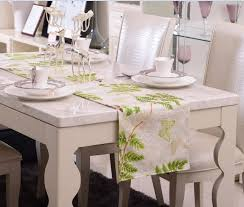 new 100 cotton sateen dining kitchen table runner home farmhouse kitchen table runners