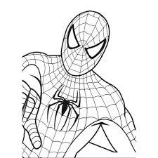 Disegno Di Spiderman Da Colorare Per Bambini
