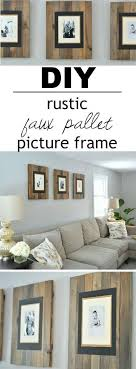 24 make your own pallet style frames