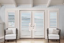 glass door window treatments