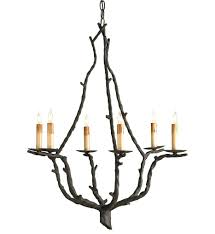 currey company 9006 soothsayer 6 light chandelier with rustic bronze finish undefined
