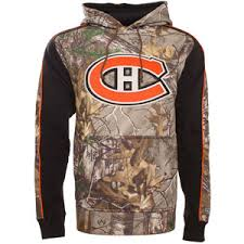 Camo Hoodie Montreal By Pullover Time Hockey Canadiens Realtree Decoy Fleece Old