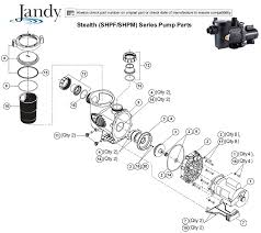 jandy stealth wiring diagram wiring diagram for you • jandy stealth shpf shpm series pump parts rh poolzoom com jandy stealth pump jandy jhp stealth