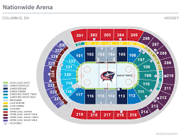 Nationwide Arena Seating Chart Seating Charts Nationwide Arena
