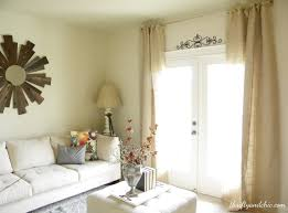 Living Room Curtains At Walmart Thrifty And Chic Diy Projects And Home Decor