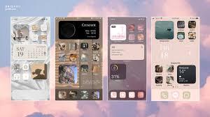 Aesthetic iOS 14.6 Home Screen Theme ...