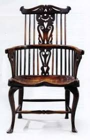 Antique Windsor Chairs Are A Popular Style Of Antique Wooden Chairs  Starting In The 18th Century.  This Is A Beautiful Example