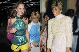 kate middleton comparison princess lady diana barbie craze