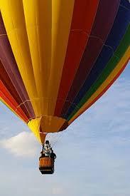 hot air balloon image.  Air Hot Air Balloon Basket In Flight To Air Balloon Image O