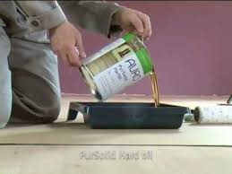 auro oiling and waxing of wooden floors