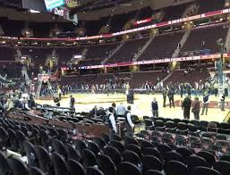 Cavs Virtual Seating Chart Rocket Mortgage Fieldhouse Section 106 Seat Views Seatgeek
