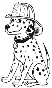 Small Picture Fire Dalmation Coloring Pages Coloring Coloring Pages