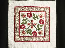 16 best Amish Applique Quilts images on Pinterest   Sconces ... & Spring Flower Quilt -- terrific ably made Amish Quilts from Lancaster Adamdwight.com