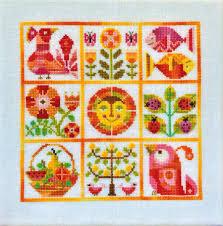 Verano Cross Stitch Pattern