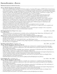 index of samples - Federal Government Resume Sample