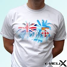Fiji T Shirt Designs Us 12 97 48 Off Fiji Palm Flag White T Shirt Top Country Design Mens Womens Kids Baby Custom Printed Tshirt Hip Hop Funny Tee In T Shirts From