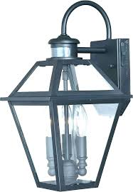 motion outdoor wall light