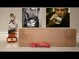 unboxing a cibi whiskey glass 37 cl