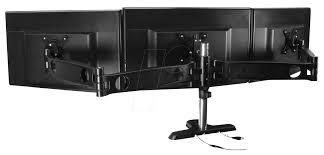 triple monitor arm up to 30 kg 30 inch arctic oraeq ma013eu