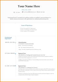 Stunning Nicu Resume Images Simple Resume Office Templates