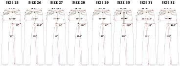 Judi Rosen Size Chart