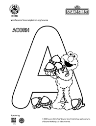 Art Sesame Street Pbs Kids Mpbamgrad Find Coloring Pages For All