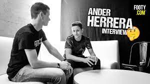 Ander Herrera Interview + adidas Nemeziz Launch - YouTube