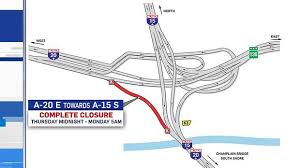 Turcot Work To Close Highway 20 Exit As Of Midnight Thursday Ctv