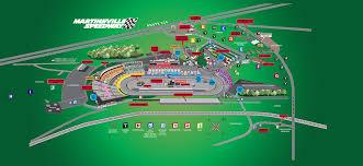 Maps Martinsville Speedway