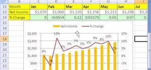Chart To Show Percentage Increase How To Calculate Percentage Change In Microsoft Excel