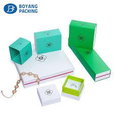 luxury design custom printed paper jewelry bo