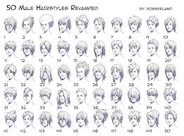 Hair Style Anime 50 male hairstyles revamped by orangenuke on deviantart 6125 by wearticles.com
