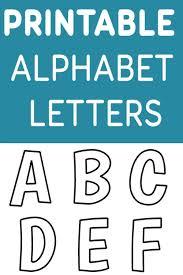 printable free alphabet templates pin